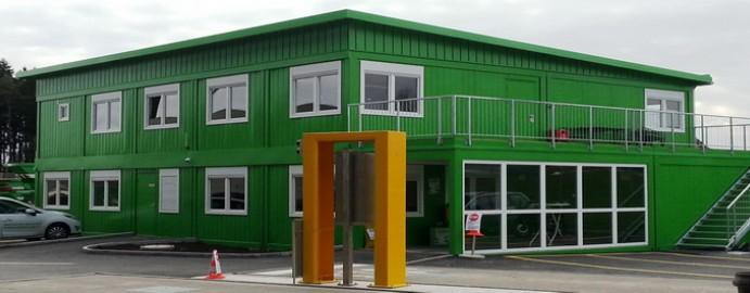 Modular school classrooms constructions